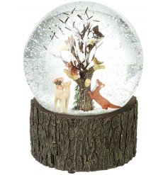 this large Snow Globe will be sure to place perfectly in any home this festive season