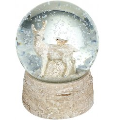 Bring a magical essence to any home this Festive Season with this beautifully decorated Snow Globe