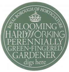 Gift your green-fingered friends with this stylish plaque.