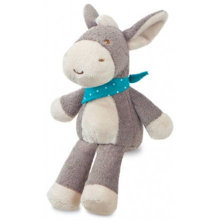 Snuggle up and play with this loveable Dippity Donkey rattle.