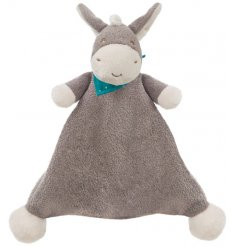 A soft to touch and super cute Dippity Donkey blankie. A lovely occasional gift item and comforter for little ones