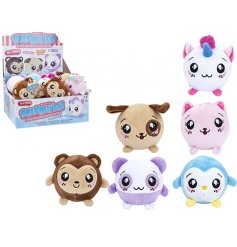 Don't miss out on this top trending kids craze! A mix of 6 collectable scented squishimi balls.
