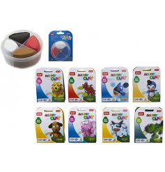 Get yourself and little ones more creative these rainy wintery days with this fun assortment of modelling clay!