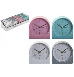 Bring a quirky colourful touch to any home interior with this Alarm Clock with added coloured feature