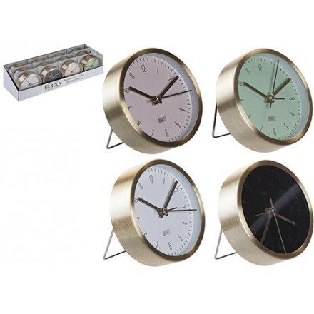 Aluminium Table Alarm Clocks