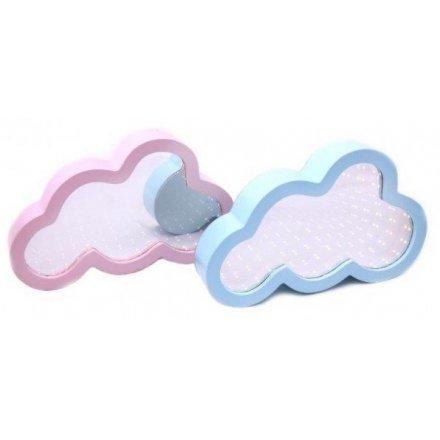 LED Infinity Cloud Mirrors 27cm Mix