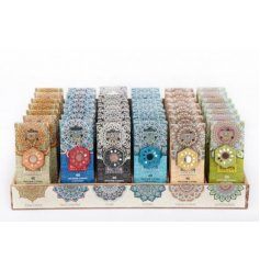 A mix of 6 beautifully scented incense cones in attractive packaging. A unique gift item.