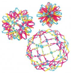 Rainbow Starburst ball - Perfect pocket money toy