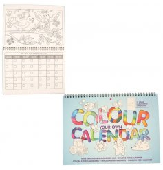 Have fun and get creative with this colour your own interactive calendar.