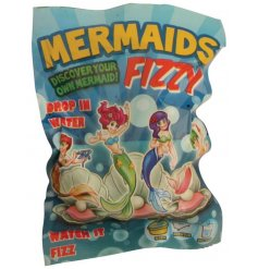 Fizzy bath bomb surprise mermaid