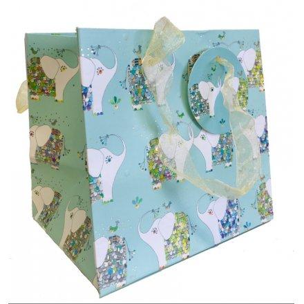 Turnowsky Colourful Elephants Gift Bag - Perfume