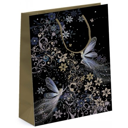 Patterned Fairy Medium Gift Bag