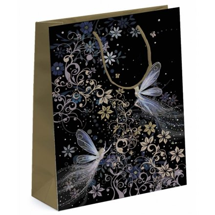 Patterned Fairy Large Gift Bag