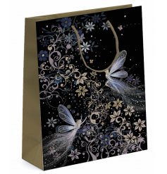 this beautifully Whimsical Fairy printed gift bag is part of a new range of themed Giftwares from the Bug Art Range