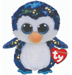 Meet Payton a fabulously sequinned Beanie Boo by TY. A must have collectable item and fun toy for children.