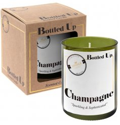 Add a refreshing smell of a freshly poured Champagne flow through your home with this quality finished candle pot