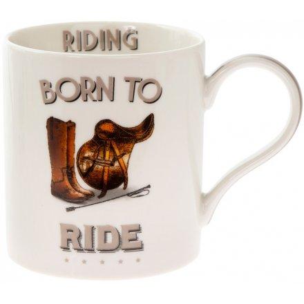 Comical Riding Mug