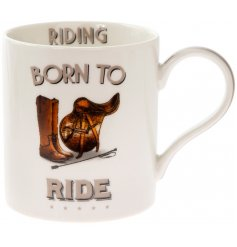 Comical Riding Mug