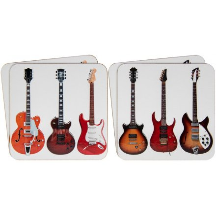 Guitar Coasters, Set 4