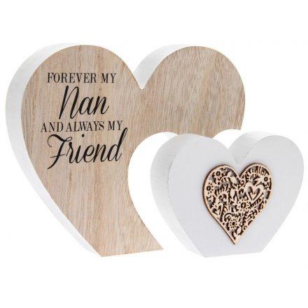 Nan Double Heart Sign