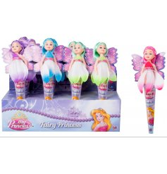 An assortment of fairy princess pocket money priced toys. A great pocket money priced item.