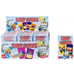 Everybody enjoys a game of snap! And with these high quality glossy print snap cards,