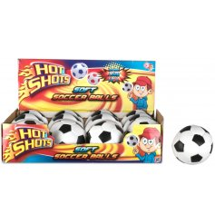 A fun and soft soccer ball toy. A great pocket money priced item.