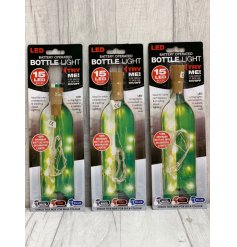 Turn ordinary bottles into decorative lights! Ideal for table centrepieces and for creating mood lighting.