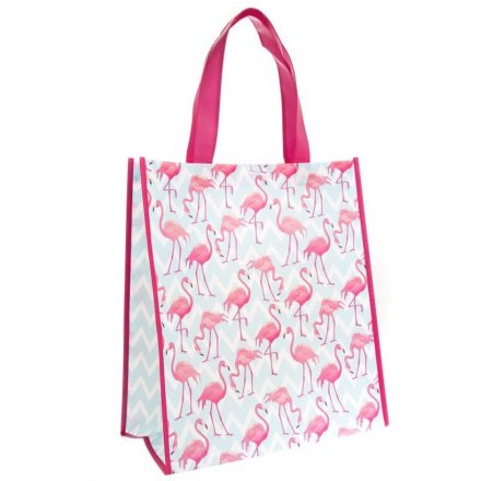 Shopping Bag, Flamingo
