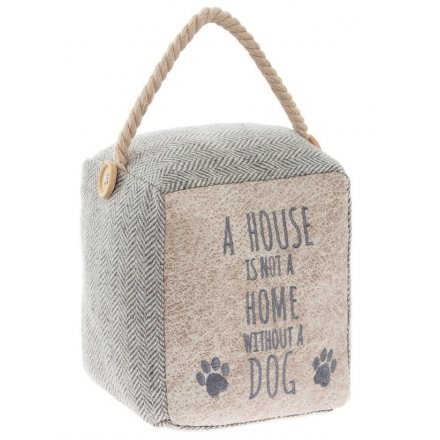 Dog Slogan Doorstop