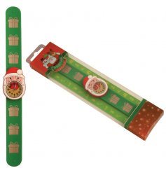 This colourful and festive Santa snap watch is great gift item and stocking filler for kids this Christmas.