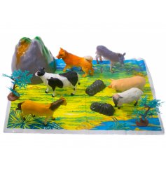 A great play set of farm animals