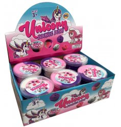 Trendy bouncing putty unicorn themed