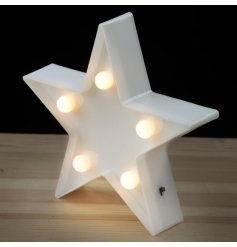 Bring a comforting glow into any little ones bedroom space or living area with this simple yet sweet standing LED Star