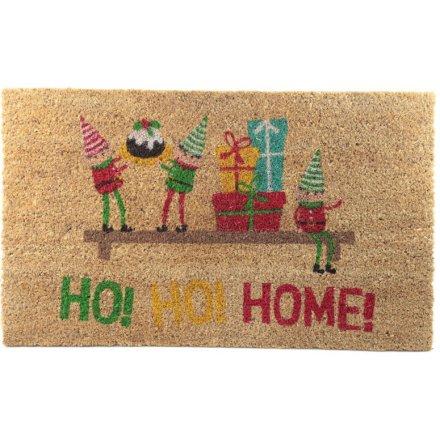 Ho! Ho! Home! Doormat