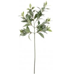 Bring a greenery feel to any home interior with this beautiful spray of artificial bay leaves