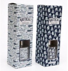 A delightfully scented mix of Nautical inspired Reed Diffusers, perfectly packaged in matching gift boxes