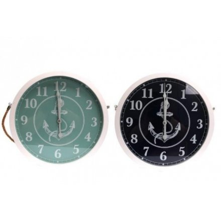 Sea Life Inspired Wall Clocks