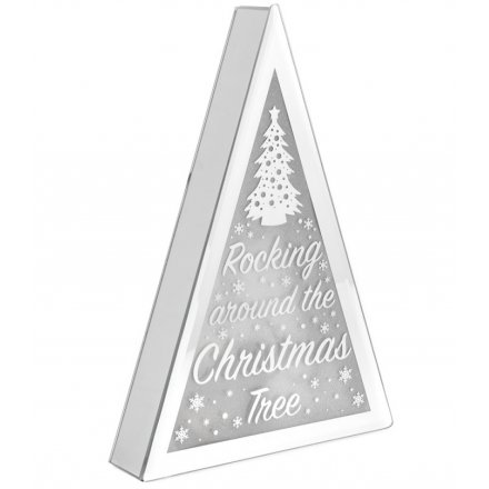 Christmas Tree LED Mirror Edge Display
