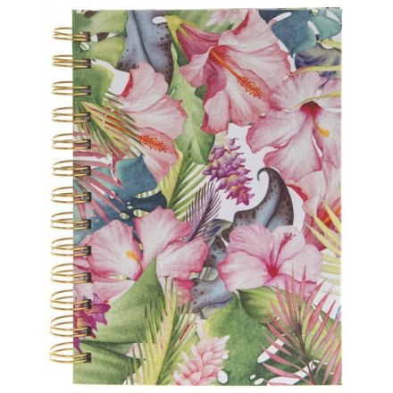 A6 Notebook, Tropical