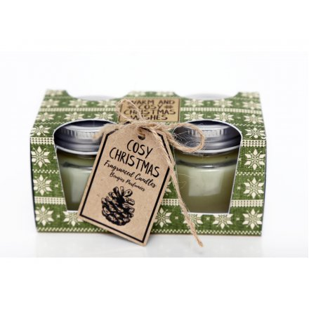 Fragrance Candle, Set 2