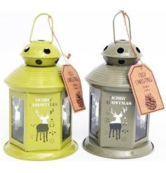 Add a cosy feel to your home this Christmas with this assortment of metal tlight lanterns