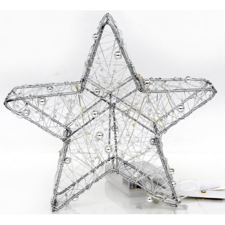 Standing Metal LED Star