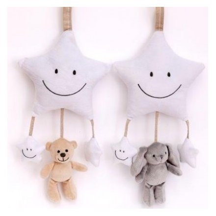 Baby Bear and Bunny Hanging Mobiles