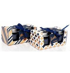 A beautifully packaged assortment of festive scented candles, perfect for bring a cheery hint to your home decor this S