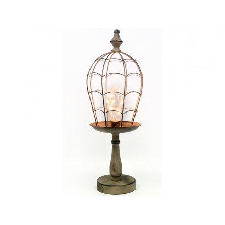 LED Rustic Lamp
