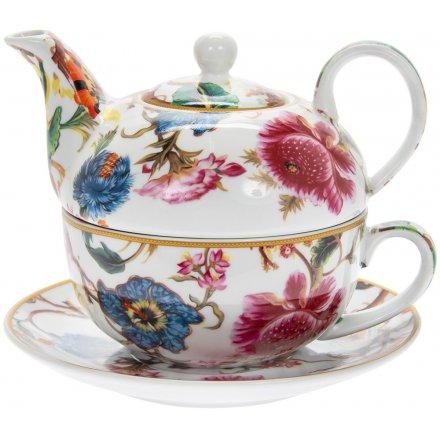 Vintage Tea For One