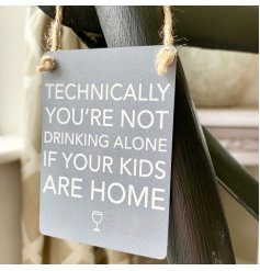 Part of our stylish range of mini dangler signs, this charming accessory is perfect for any Dysfunctional Family!