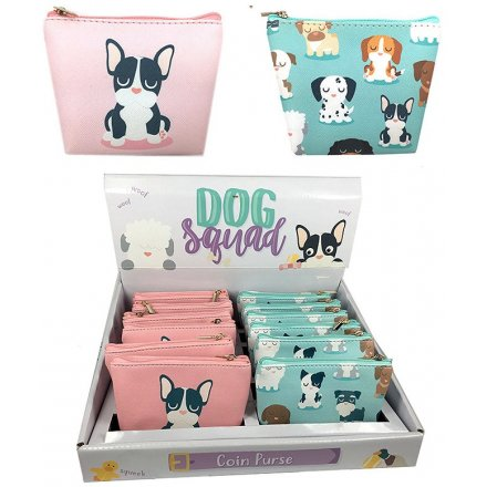 Assorted Dogs Squad Coin Purses