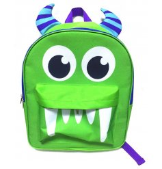 A bold and fun monster design rucksack with 2 handy storage compartments. Ideal for school and big adventures.